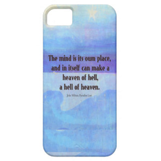 Inspirational Milton quote Paradise Lost Barely There iPhone 5 Case