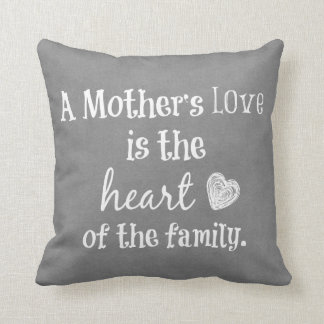 Inspirational Mom Quote Cushions