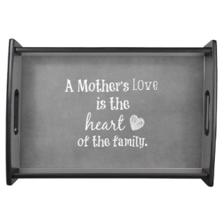 Inspirational Mom Quote Serving Tray