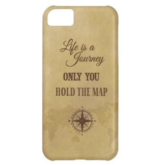 Inspirational Motivational Life Direction Quote iPhone 5C Cover