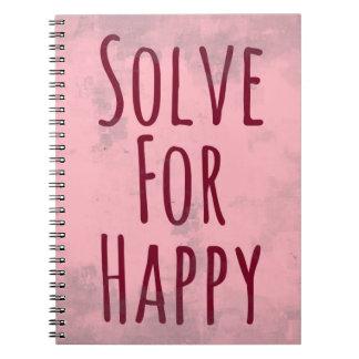 Inspirational & Motivational Notebook: Happy Notebooks
