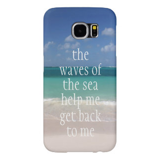 Inspirational Motivational Quote Waves of the sea
