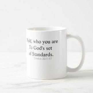 Inspirational mug, with clarity of our actions. coffee mug