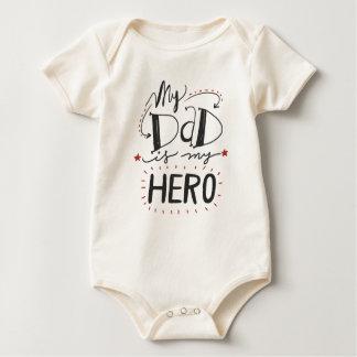 Inspirational My Dad is My Hero   Bodysuit