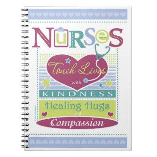 Inspirational Notebook design for Nurses