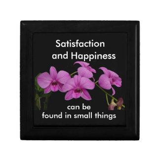Inspirational Orchid keepsake box