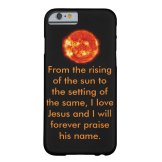 Inspirational Phone case Barely There iPhone 6 Case