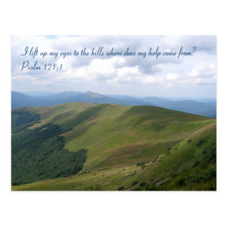 Inspirational Photo with Quote | Christian Gifts Postcard
