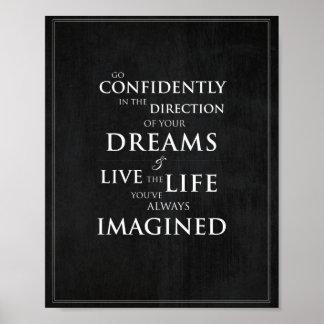 Inspirational Quote 8 x10 Art Print