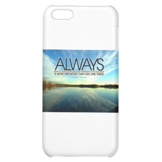 Inspirational Quote -- Abraham Lincoln iPhone 5C Cases