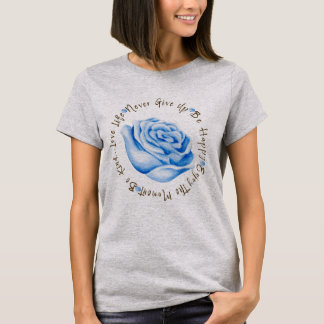 Inspirational Quote Affirmation Circle T-Shirt