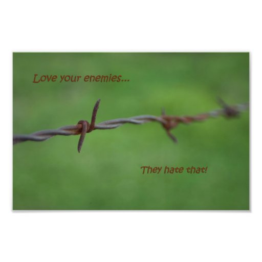 Inspirational quote barbwire photograph motivation