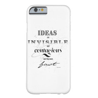 Inspirational quote barely there iPhone 6 case