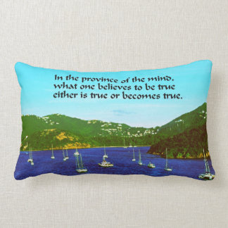 Inspirational quote cushions