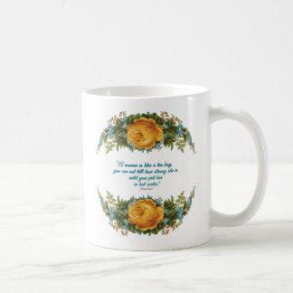 Inspirational Quote for Women by Nancy Reagan Coffee Mug