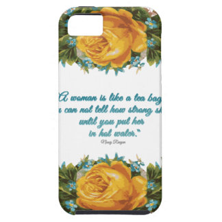 Inspirational Quote for Women by Nancy Reagan iPhone 5 Covers