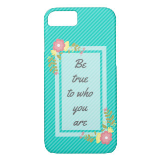 Inspirational quote iPhone 7 case