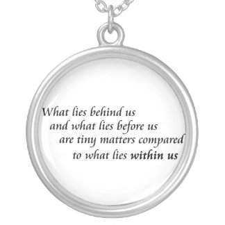 Inspirational quote necklaces unique courage gifts