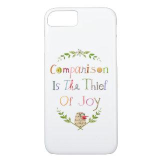 Inspirational quote phone case, Comparison iPhone 8/7 Case