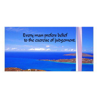 Inspirational Quote Picture Card