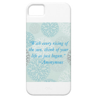 Inspirational quotes for your i-Phone! iPhone 5 Cover