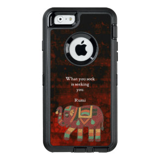 Inspirational Rumi What You Seek Quote OtterBox iPhone 6/6s Case