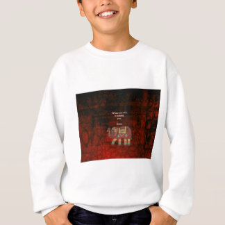Inspirational Rumi What You Seek Quote Sweatshirt