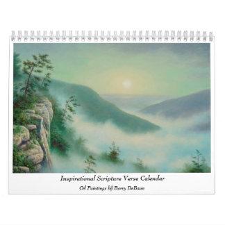 Inspirational Scripture Verse Calendar
