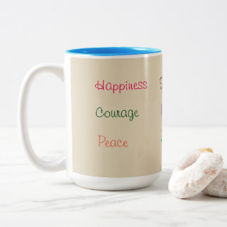 Inspirational Single Words Mug