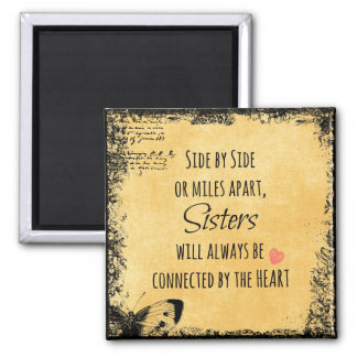 Inspirational Sister Quote Magnet