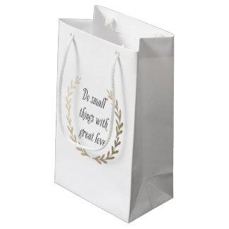 Inspirational Small Gift Bag