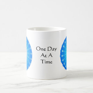 inspirational Spiritual Quote - One Day at a Time Basic White Mug
