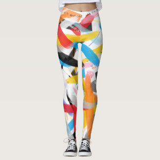 Inspirational Splash of Color Leggings