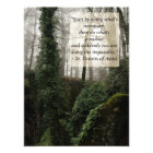Inspirational St. Francis Quote Photo Print