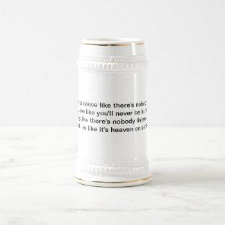 Inspirational Stein Coffee Mug