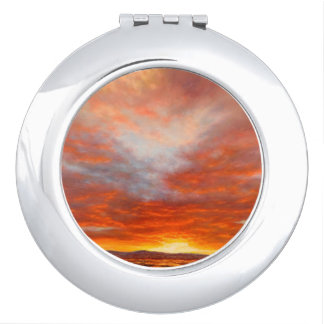 Inspirational Sunrise Compact Mirror