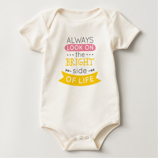 Inspirational The Bright Side of Life   Bodysuit