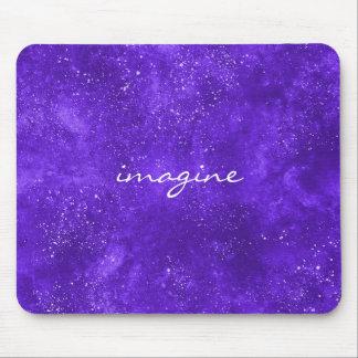 Inspirational ultra violet mousepad