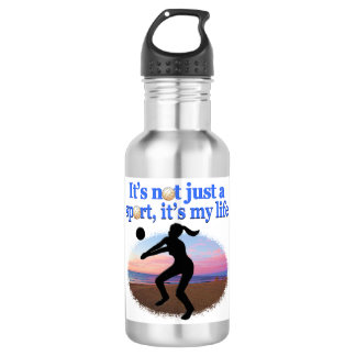 INSPIRATIONAL VOLLEYBALL IS MY LIFE DESIGN 532 ML WATER BOTTLE