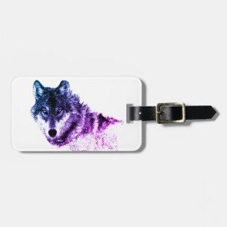 Inspirational Wolf Eyes Luggage Tag
