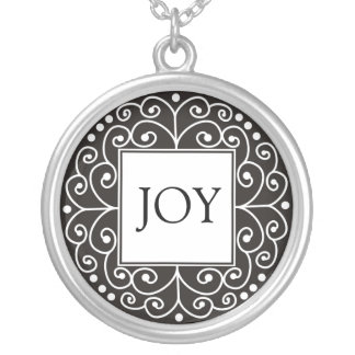 Inspirational Word - JOY Pendant
