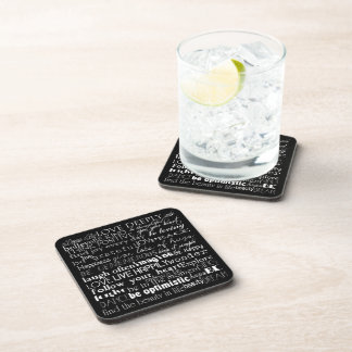 Inspirational Words Coasters