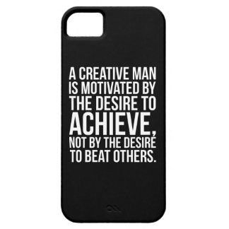 Inspirational Words - Desire To Achieve Case For The iPhone 5