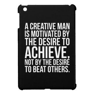 Inspirational Words - Desire To Achieve iPad Mini Covers