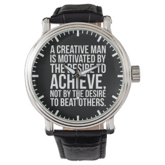 Inspirational Words - Desire To Achieve Watch