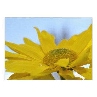 Inspirational Yellow Flower Invitations