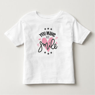 Inspirational You Make Me Smile | Shirt