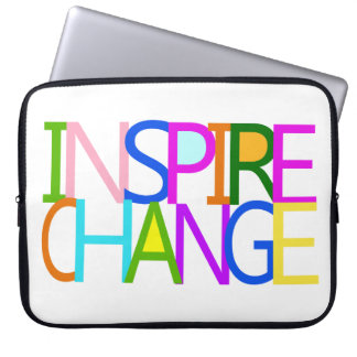 INSPIRE CHANGE LAPTOP COMPUTER SLEEVE