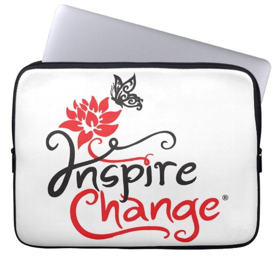 Inspire Change Neoprene Laptop Sleeve 13 inch