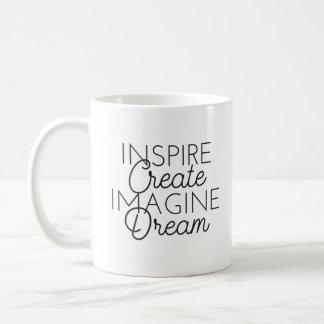 Inspire Create Imagine Dream Mug